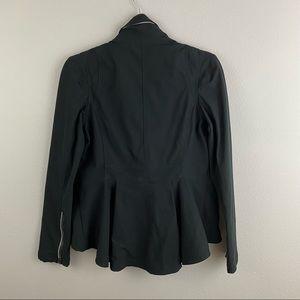 Lululemon • Peplum Moto Jacket